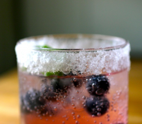 Summer Fruit Cocktail With Lime-Vanilla Bean Simple Syrup Recipes ...