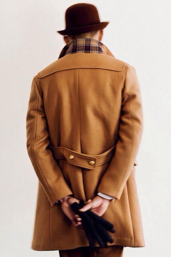 Camel Overcoat | MEN'S STYLING | Pinterest