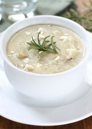 Potato Rosemary Soup Recipe on twopeasandtheirpod.com This soup is a ...