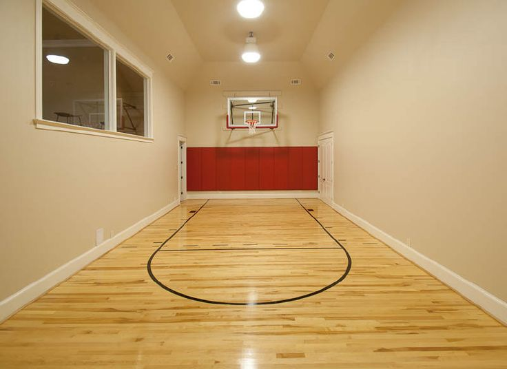 Indoor Basketball Court Dream Home Pinterest