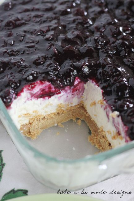 Blueberry no bake cheesecake | Sweet Treats | Pinterest
