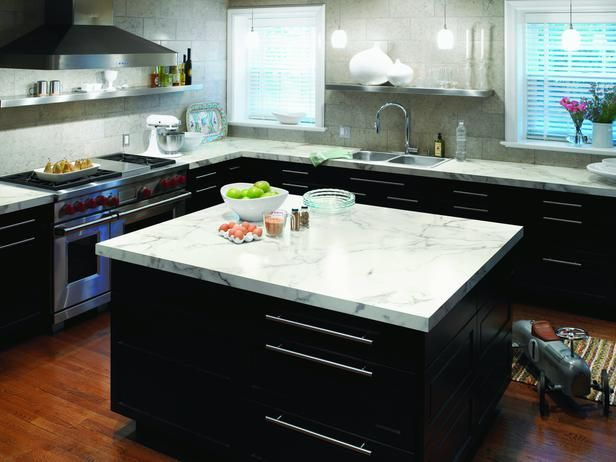 Formica calacatta marble countertops kitchen ideas for Kitchen remodel laminate countertops