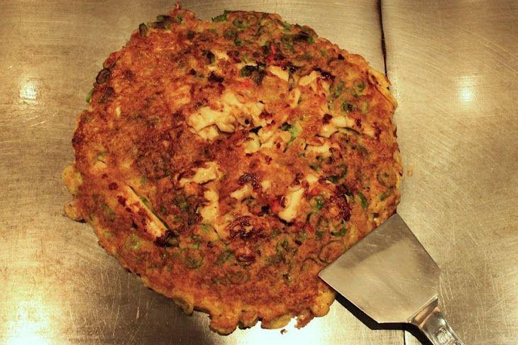 Japanese Pancakes (Okonomiyaki) Recipe | food i cooked | Pinterest