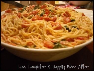 Pasta with Tomato-Blue Cheese Sauce by The Pioneer Woman http ...