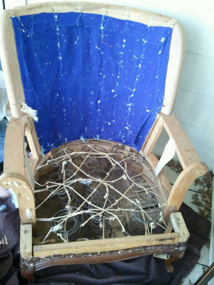 Reupholstering Chair Part I Home Ideas Pinterest