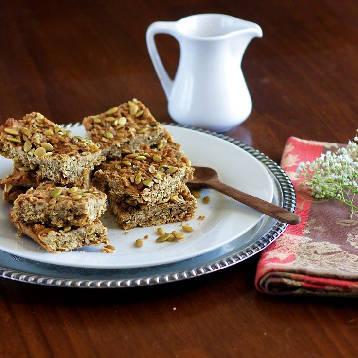 pumpkin granola bars | Recipes-Sweets | Pinterest