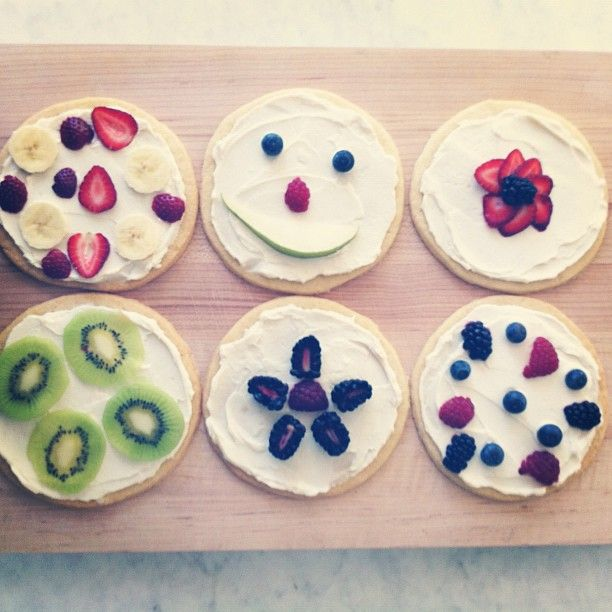 sugar cookie 'pizzas'!!!!   ~For my boys~   Pinterest