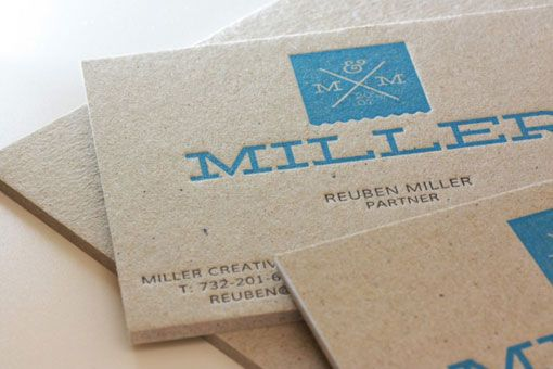 Business Card / Miller Creative