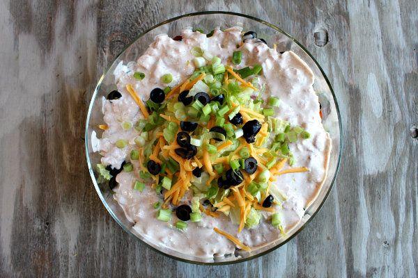 Tex Mex Layered Salad | Recipe