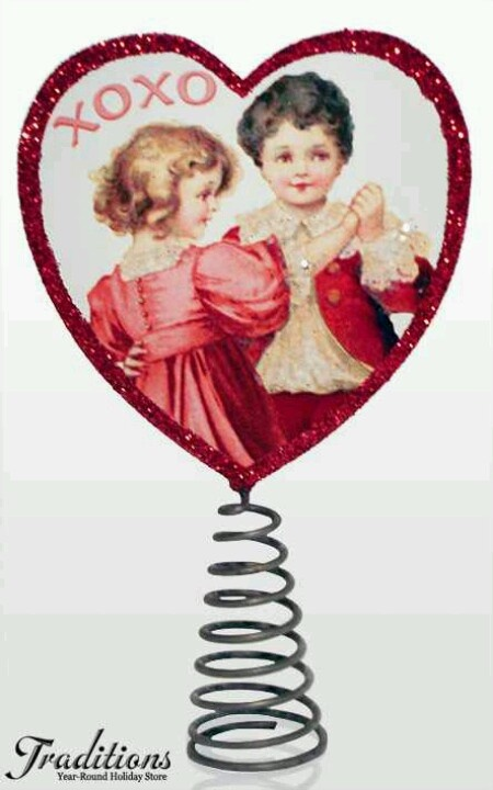 valentine day tree decorations