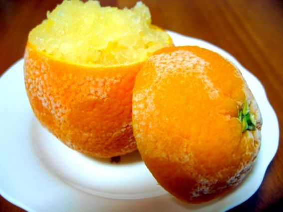 Orange Sorbet Recipe — Dishmaps
