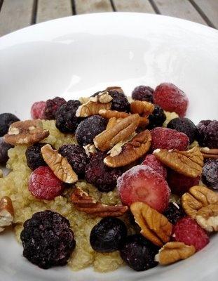 Greedy Gourmand: Warm and nutty cinnamon quinoa