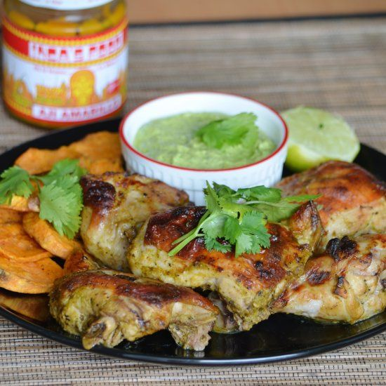 Peruvian Roasted Chicken With Aji Verde Recipes — Dishmaps