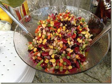 bean and wax bean salad mexican quinoa salad mexican shrimp cobb salad ...