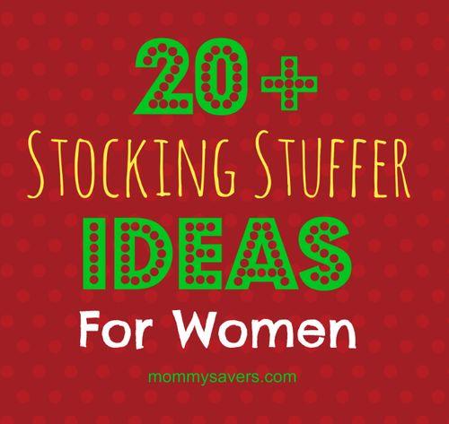 20 Stocking Stuffer Ideas For Women Christmas Ideas