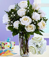 proflowers white roses