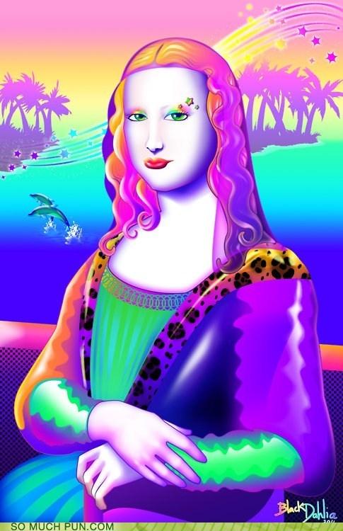Mona Lisa Frank--I loved Lisa Frank!!