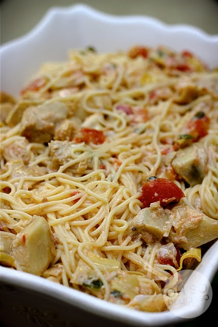 Spinach Artichoke Pasta | Recipes | Pinterest