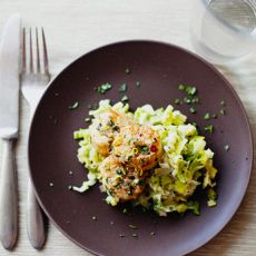 Scallops on Creamy Leeks | Eat | Pinterest