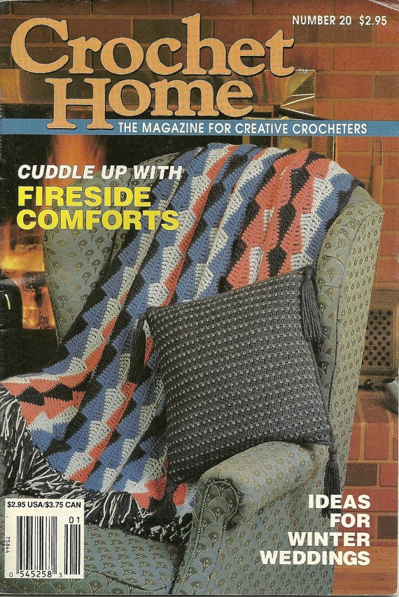 Crochet Home Magazine : Crochet Home magazine, Dec-Jan 1991, vintage patterns