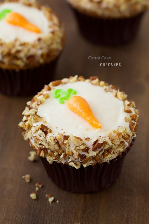 ... this: carrot cake cupcakes , cream cheese frosting and carrot cakes