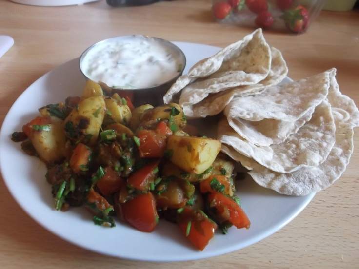 New Potato Curry (in a hurry) | Food and Recipes | Pinterest