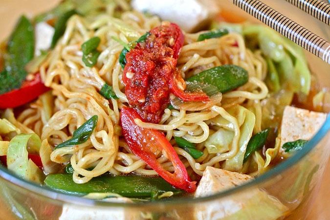 Quick Tofu Ramen Noodle Soup Recipes — Dishmaps