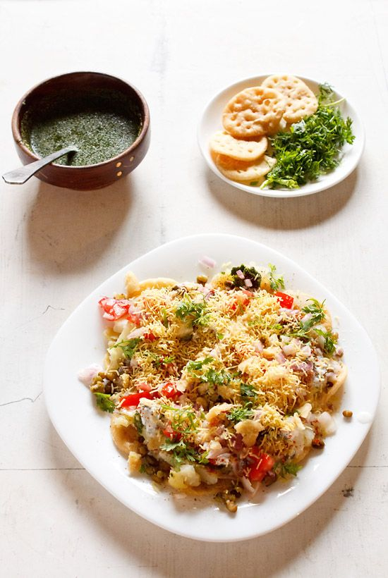 dahi papdi chaat recipe – one of the very popular chaat recipes from ...