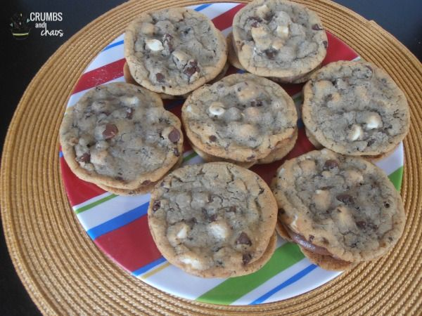 Chocolate Espresso Sandwich Cookies | crumbsandchaos.net | #cookies ...