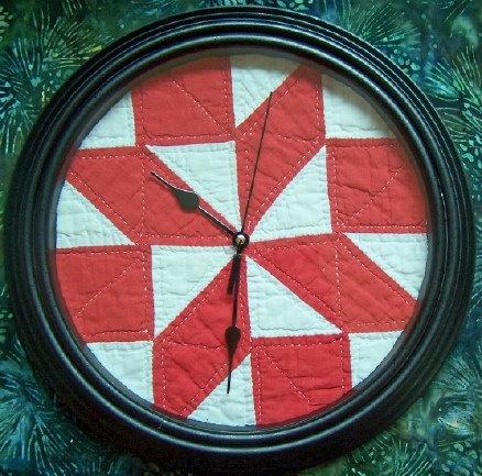 quilt clock!!