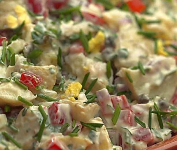 Creamy Potato Salad | Low Carb & Low Calorie Savory | Pinterest
