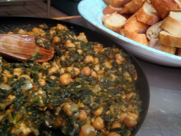 Andalucian Chickpea and Spinach Stew IMG_2728 http://www ...