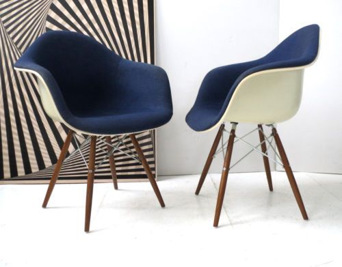 Eames ARM Chair Fauteuil Chaise Dowel Mobilier International FOR Vitra ...