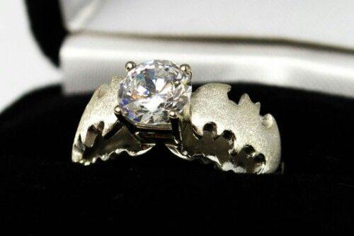 batman wedding ring stuff