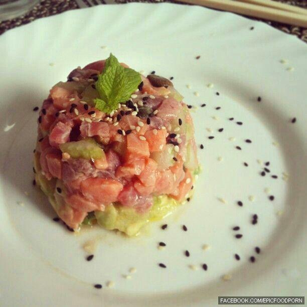 Tuna Tartare Guacamole Recipes — Dishmaps