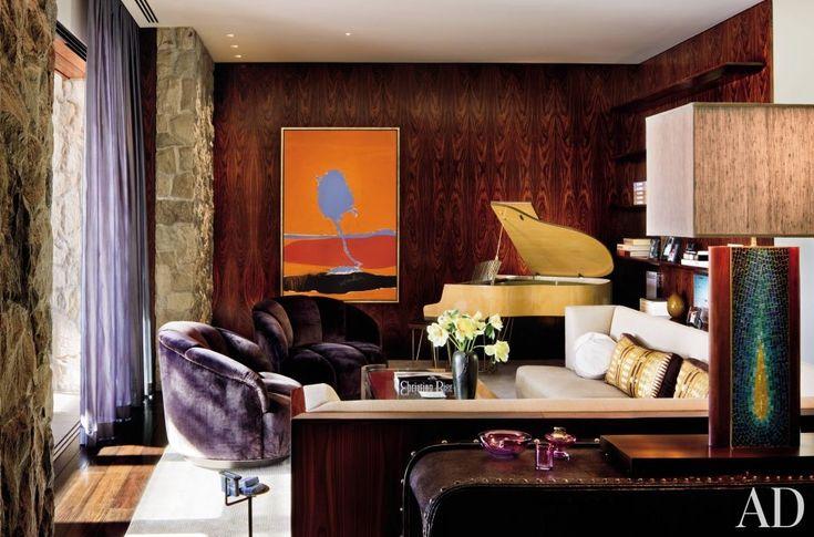Actors' Living Rooms: Jennifer Aniston