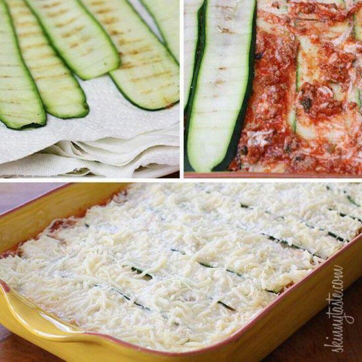 Zucchini lasagna   Yummy Meals   Pinterest