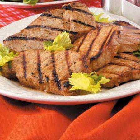 Marinated Pork Chops Recipe   Yummy   Pinterest