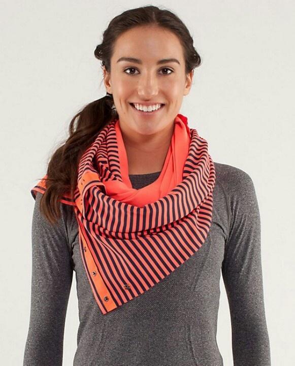 vinyasa scarf from lululemon fashion