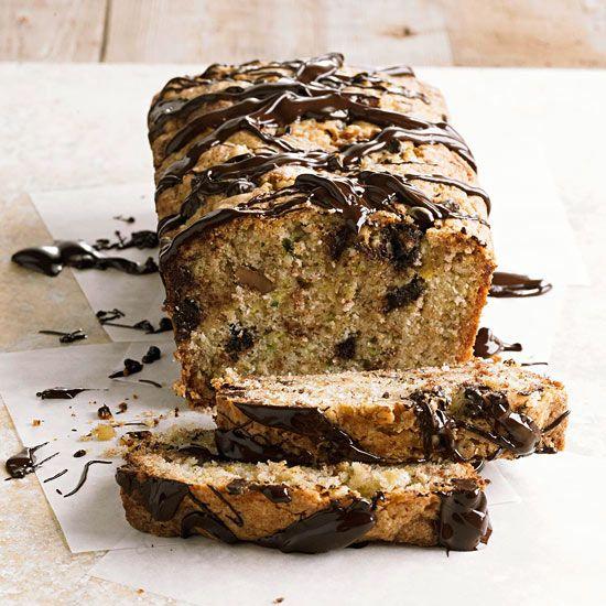 Chocolate-Zucchini Bread-a bit of a stretch for healthy desserts so I ...