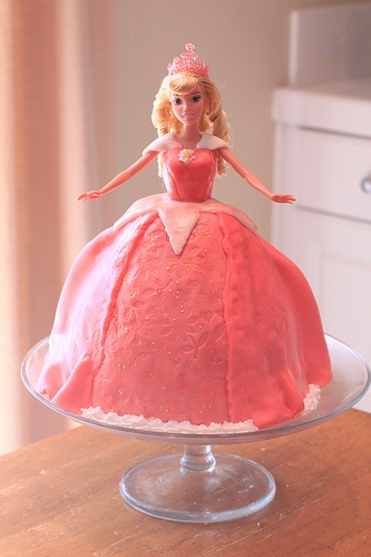 Princess Aurora Cake #Aurora #Sleeping Beauty #Princess cake