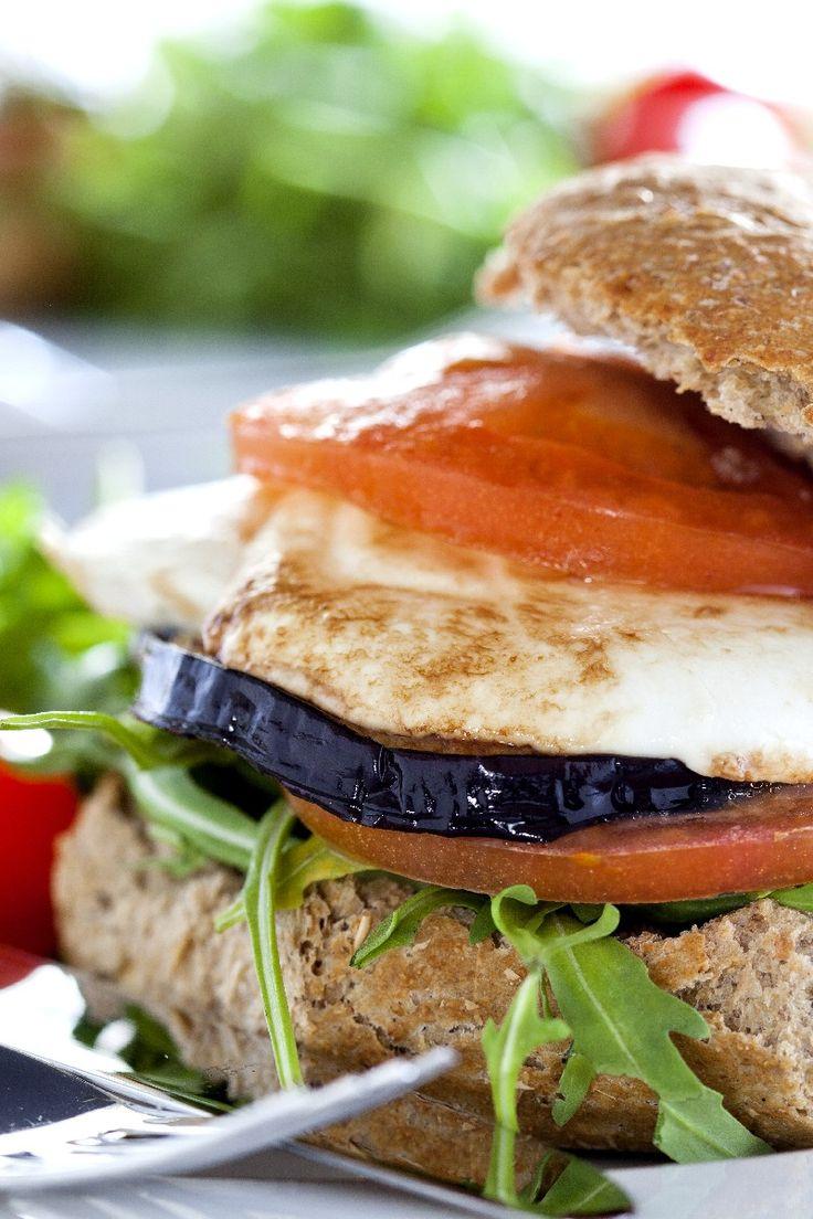 Eggplant Burgers | & FOOD | Pinterest