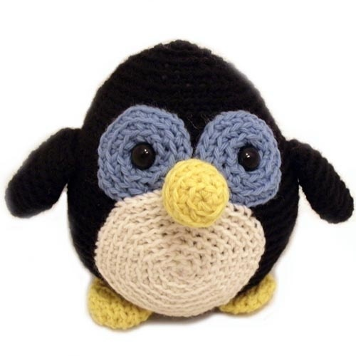 Free Patterns Crochet Stuffed Animals : penguin Stuffed Animal Crochet Pattern Crocheted Stuffs ...