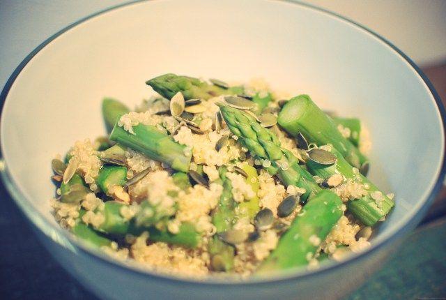 Tabasco and asparagus quinoa | Quinoa i Love | Pinterest