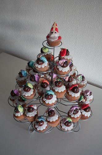 Sint-Knutsel idee: sinterklaas cakejes