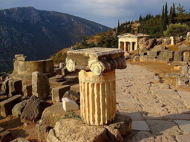 Delphi Ruins - Delphi, Greece  Where people live  Pinterest