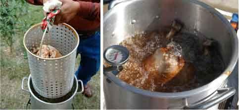 Deep Fried Turkey   Once a week cooking   Pinterest