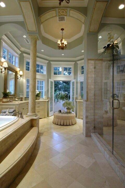 Amazing bathroom dream house designs ideas pinterest for Dream master bathroom designs