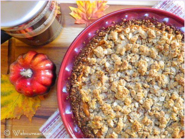 Sweet Potato Pie with Gingersnap-Pecan Crust | Recipe