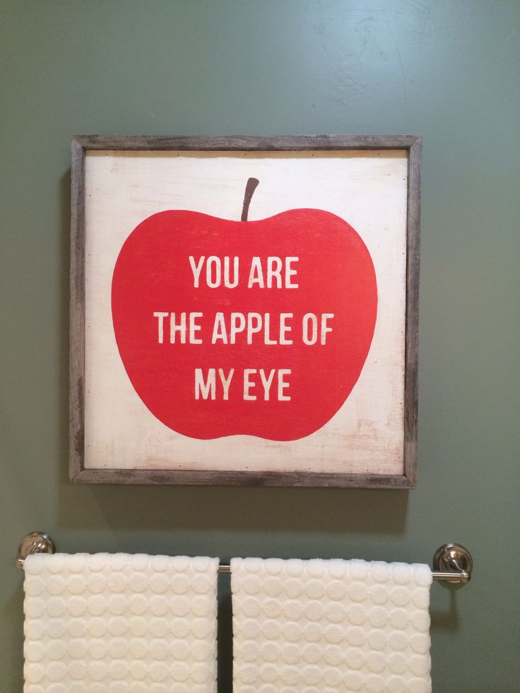 The apple of my eye | Crafting | Pinterest